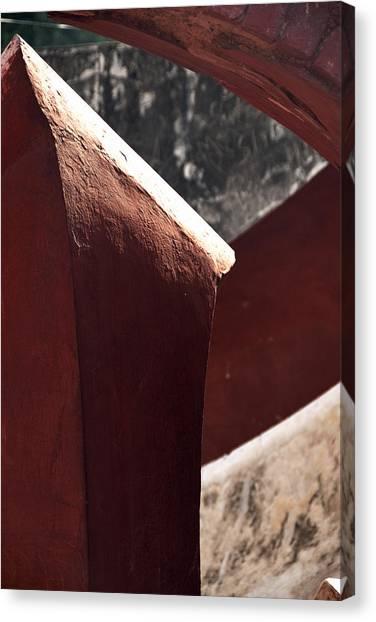 The Pillar Stands Canvas Print