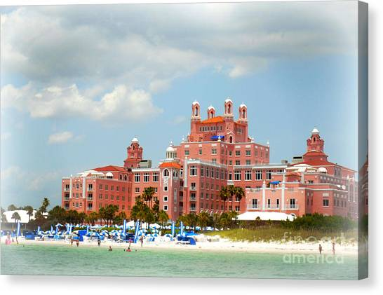 The Pink Palace Canvas Print