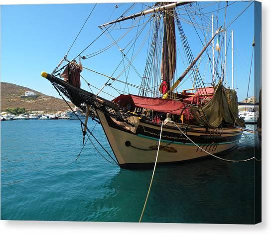 The Pirate Ship  Canvas Print