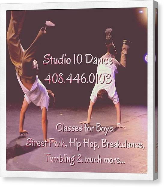 Tumbling Canvas Print - The Place To Be In The Bay Area!! by Studio 10 Dance