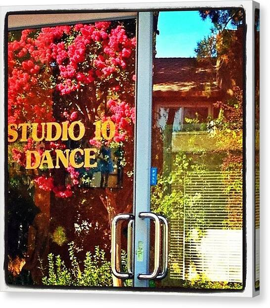 Ballet Canvas Print - The Place To Dance & Get Fit In The Bay by Studio 10 Dance