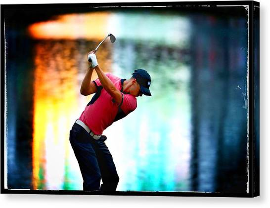 The Players Championship - Alternative Views Canvas Print by Richard Heathcote