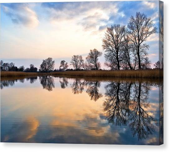 Ponds In Lomna Canvas Print