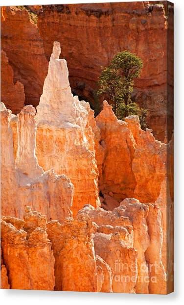 The Pope Sunrise Point Bryce Canyon National Park Canvas Print