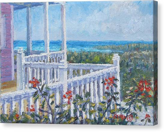 Eleuthera Art Canvas Print - The Porch by Ritchie Eyma