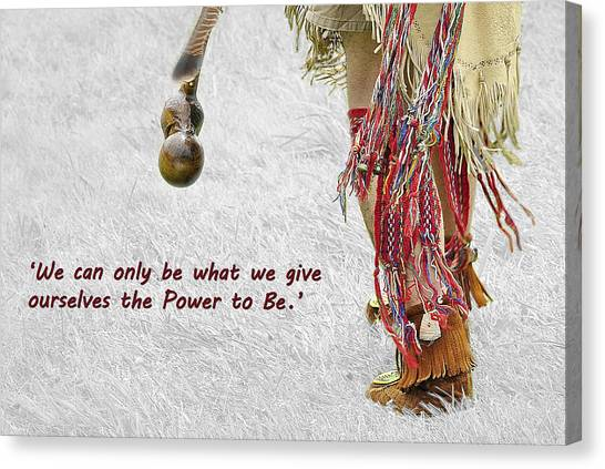 The Power To Be Canvas Print