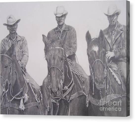 The Powers Boys Canvas Print