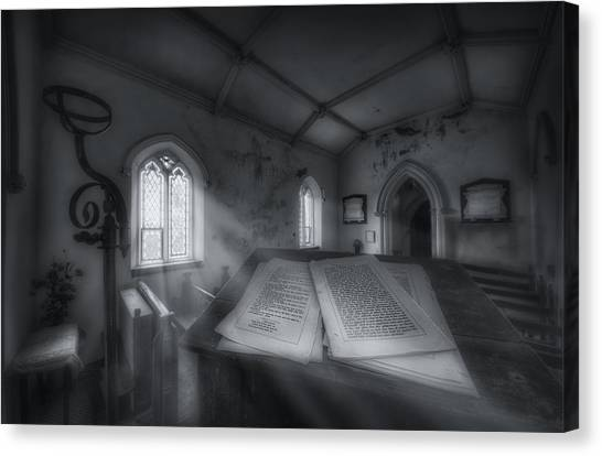 The Preachers Place Canvas Print