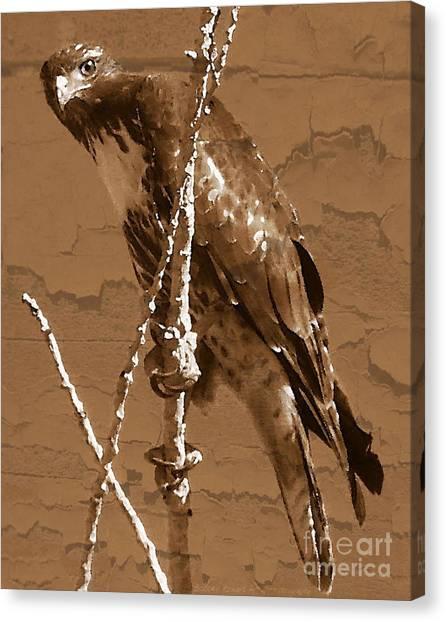 The Predator Digital Painting Canvas Print