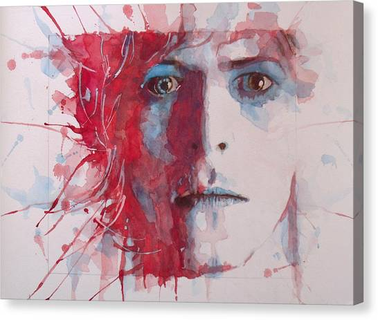 Pop Icon Canvas Print - The Prettiest Star by Paul Lovering