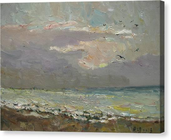 The Quiet Evening Canvas Print