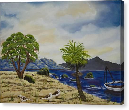 The Quiet Harbor Canvas Print