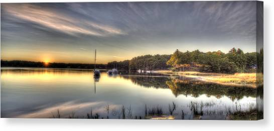 The Quiet River Canvas Print