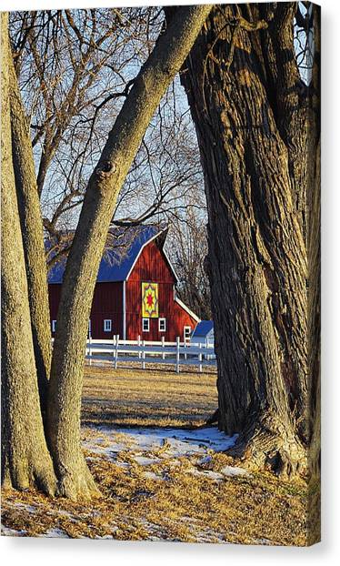 The Quilt Barn Canvas Print