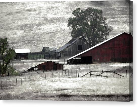 The Ranch View Canvas Print
