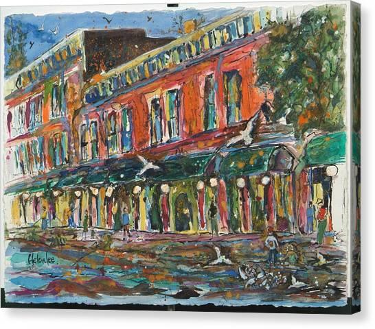 The Rankin Quarter Canvas Print