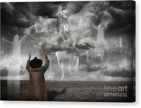 The Rapture II Canvas Print