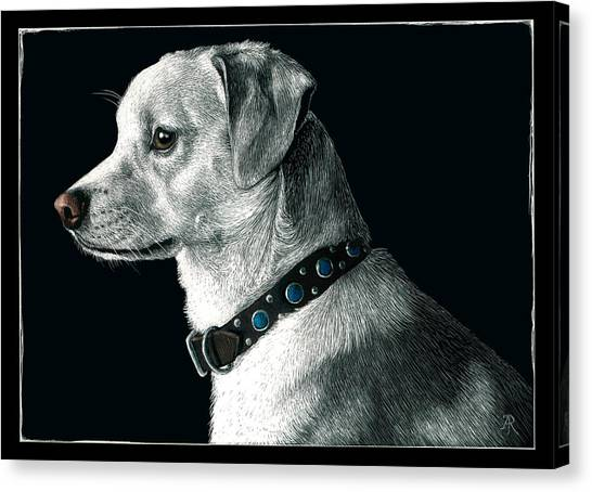 The Ratter Canvas Print