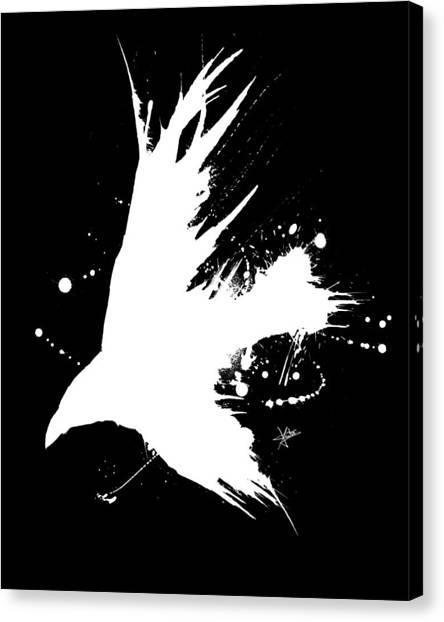The Raven IIl Canvas Print