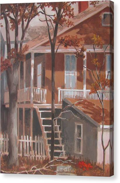 The Rear End Canvas Print