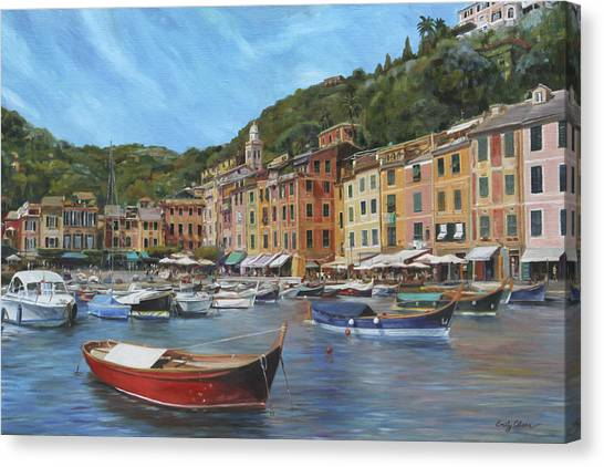 The Red Boat Canvas Print