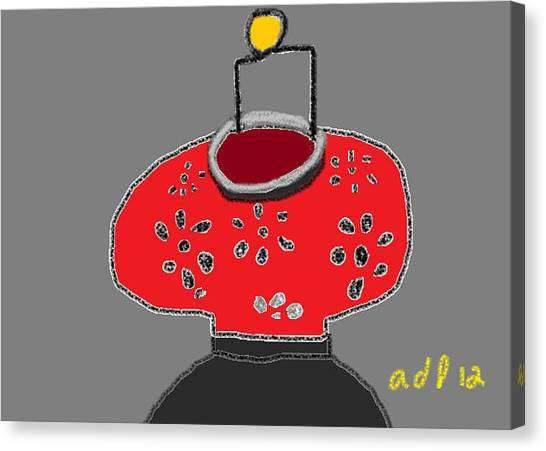The Red Lantern Canvas Print