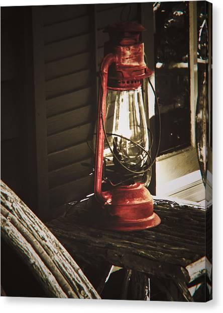 The Red Lantern Canvas Print