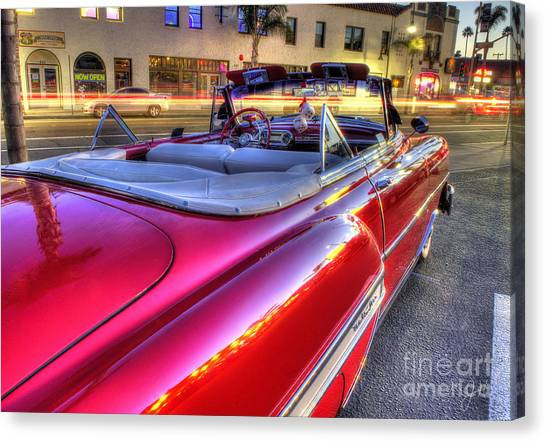 The Red Liner Canvas Print