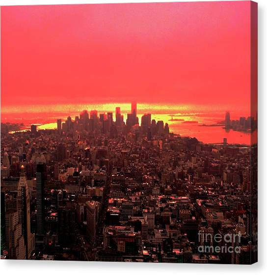 The Red Man Canvas Print