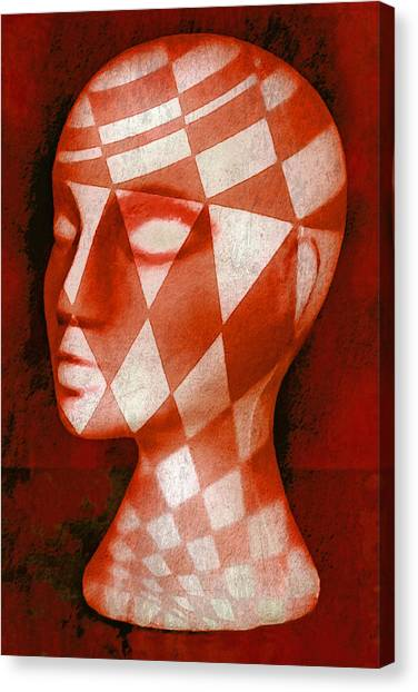 Checker Canvas Print - The Red Phantom by Jeff  Gettis