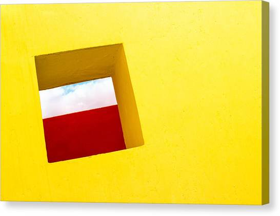the Red Rectangle Canvas Print