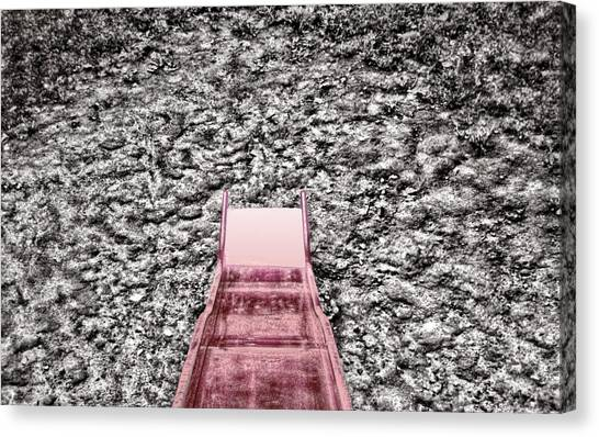 Red Slide Canvas Print by Kellice Swaggerty