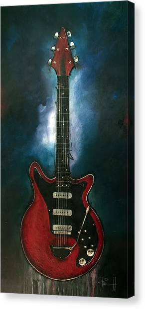The Red Special Canvas Print