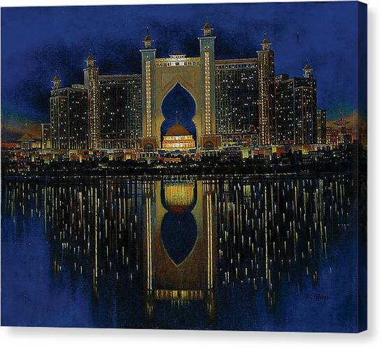 The Reflection 2  Canvas Print