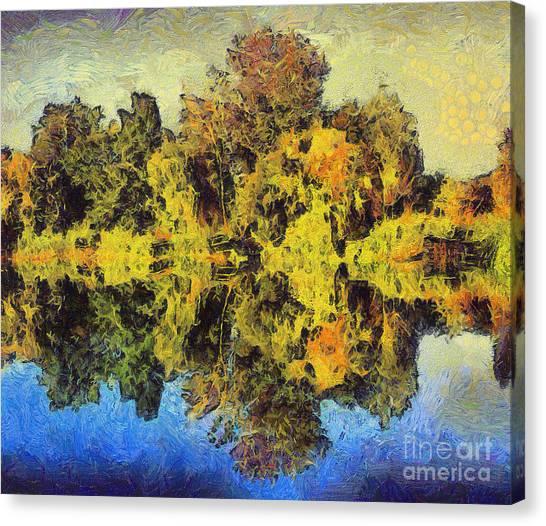 The Reflections Canvas Print