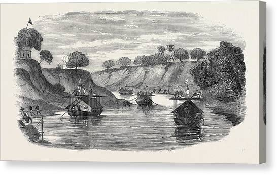 Sikh Art Canvas Print - The Regiment Of Loodianah Gordons Sikhs On Their Voyage by English School