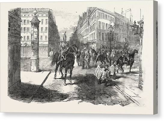 Aspect Canvas Print - The Revolution In France Aspect Of The Boulevards by French School