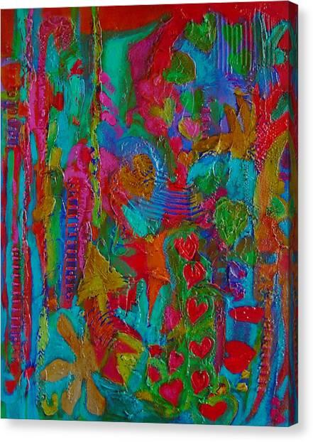 The Rhythm Of Life Canvas Print