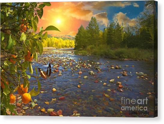 The Riches Of Life Canvas Print