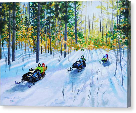 The Ride Canvas Print