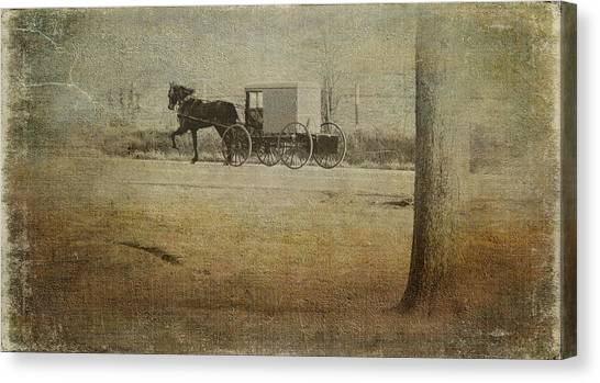 The Ride Home Canvas Print by Kathy Jennings