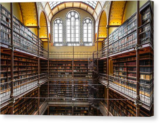 The Rijksmuseum Library Canvas Print