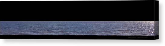Andreas Gursky Canvas Print - The River by Gunter Nezhoda