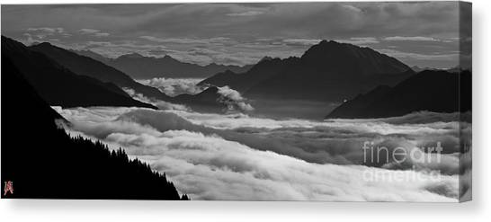 The River Of Clouds Canvas Print by Marco Affini