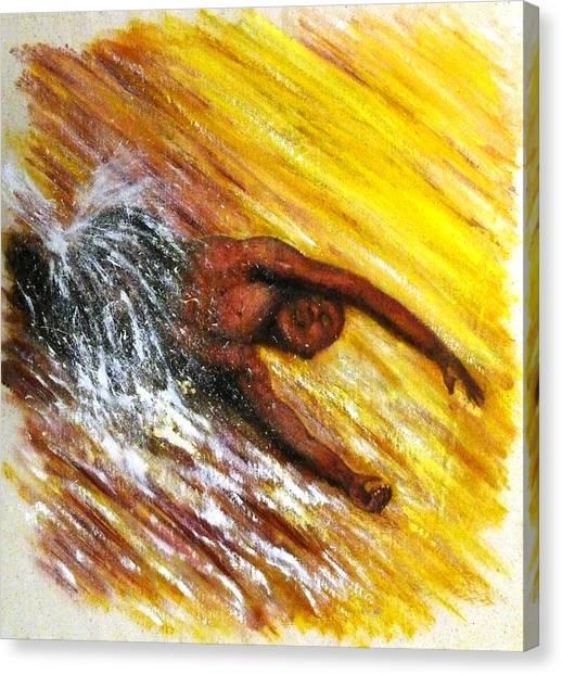 The River Runs Through Me Canvas Print