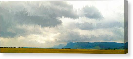 The Road To Limpopo Canvas Print