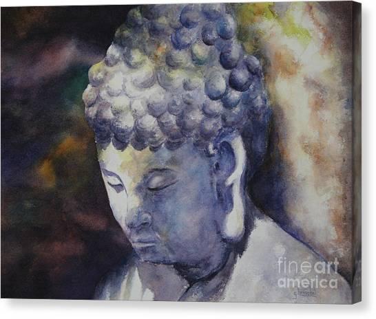 The Roadside Buddha Canvas Print