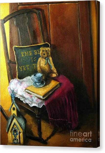 The Rocking Chair Canvas Print by Patricia Lang