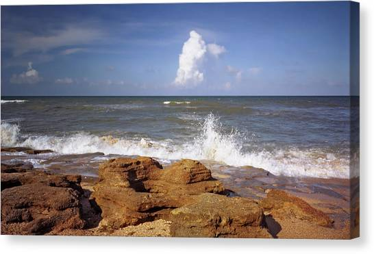 The Rocks V. Flagler County. Canvas Print