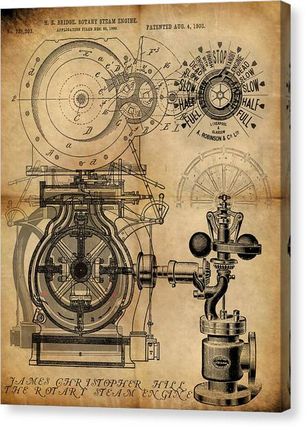 The Rotary Engine Canvas Print